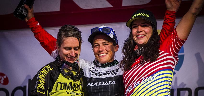 Tracy Moseley, campeona del Enduro World Series 2015 – Ainsa